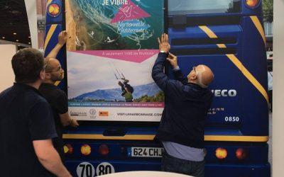 Affichage bus – Salon Européen de la Mobilité